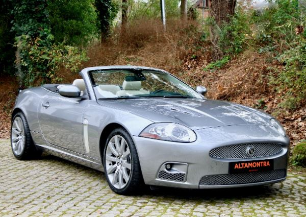 jaguar xkr v8 supercharged cabrio